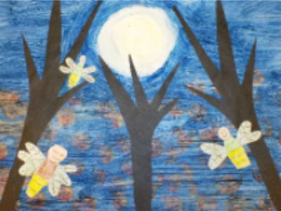 Glow in the Dark Art Workshop  (4-12 Years)